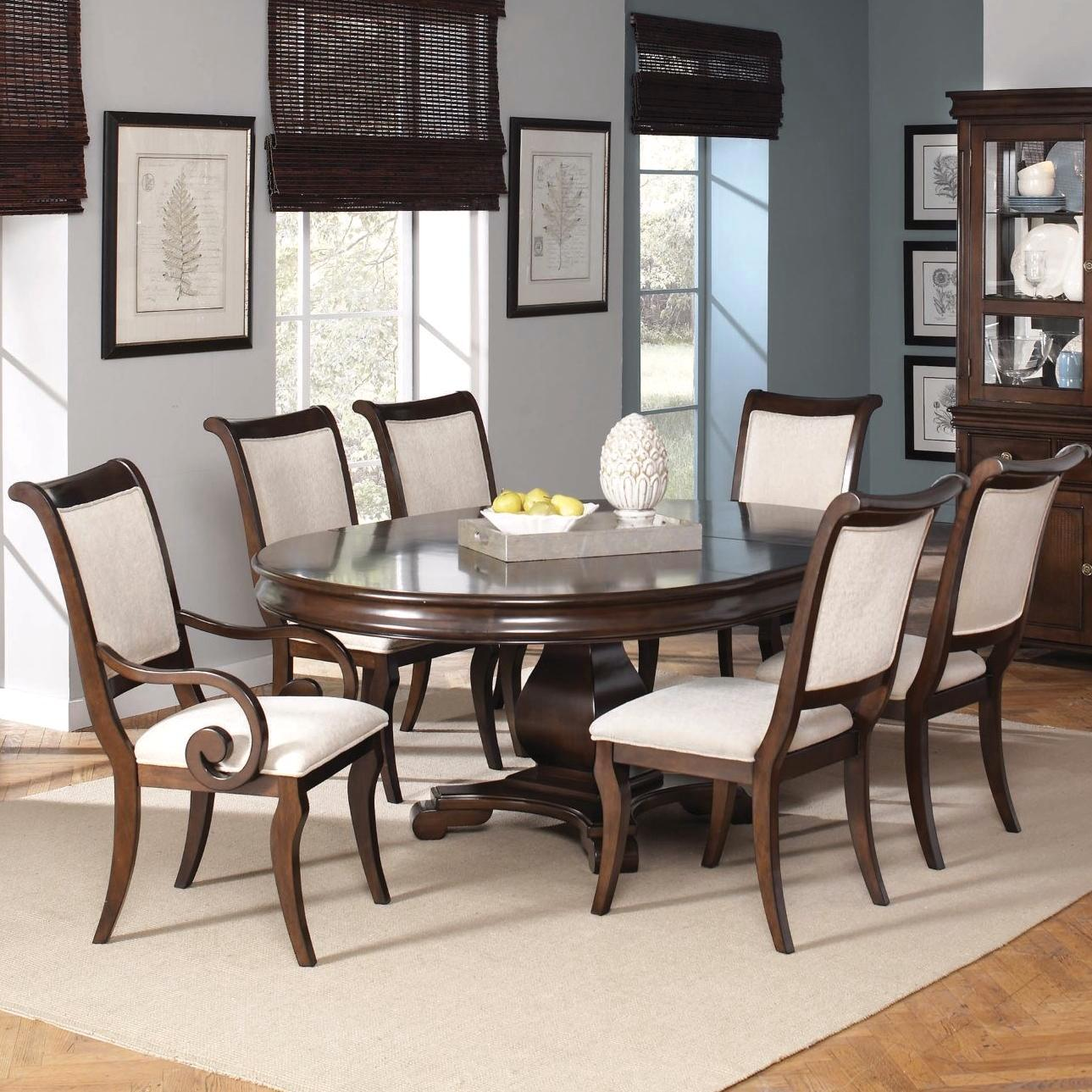 Harris Dark Cherry Finish Dining Room Furniture Set