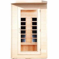Hemlock 2 Person Carbon Heater Far Infrared Sauna, PT202HCB