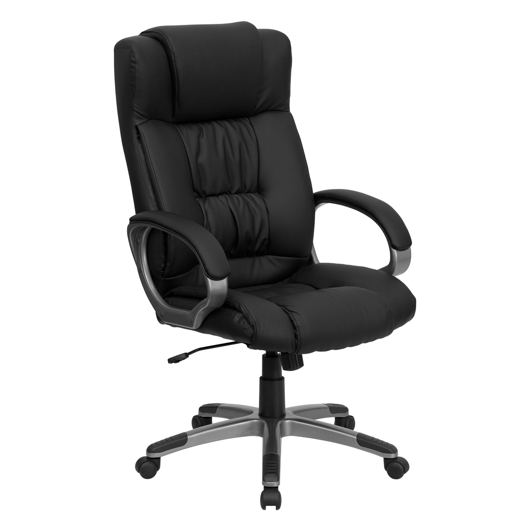 high back black leather executive office chair bt 9002h bk gg. Black Bedroom Furniture Sets. Home Design Ideas