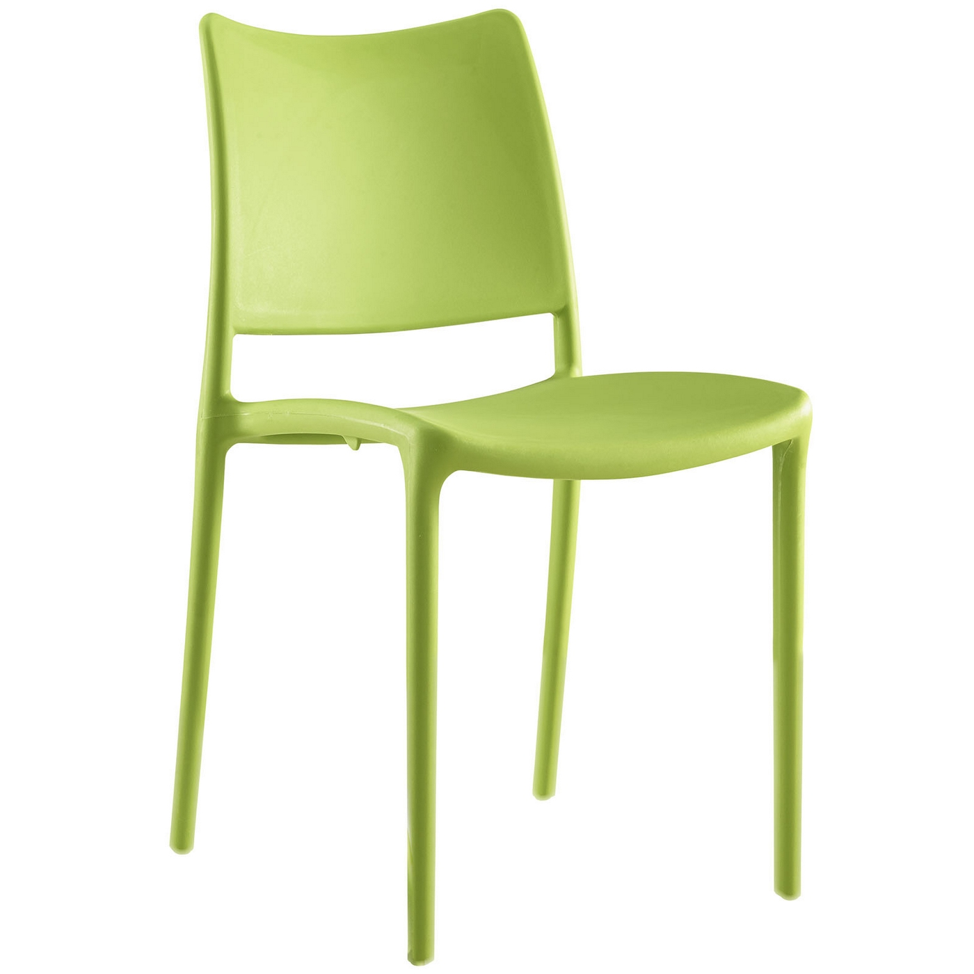 hipster contemporary stackable plastic dining side chair green. Black Bedroom Furniture Sets. Home Design Ideas