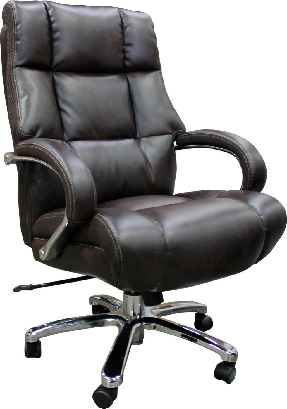 Horizon Big Tall Heavy Duty Office Cafe Espresso Desk Chair 500 Lb Capacity