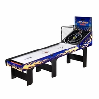 Hot Shot Home Free Standing 8 foot Skeeball Game Table with LED Scoring System