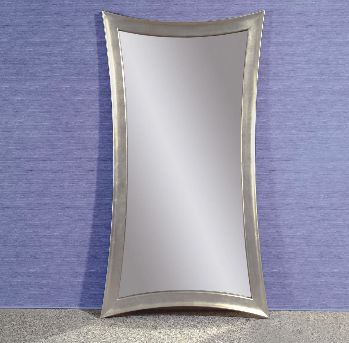 Hour Glass Traditional Shaped Leaning Floor Mirror M1718ec