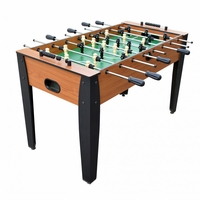 "Carmelli Hurricane 54"" Foosball Soccer Table with 4 Balls in Light Cherry Wood"