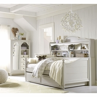 Inspirations by Wendy Bellissimo Wesport Bookcase Daybed in Morning Mist