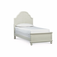 Inspirations Morning Mist Cottage Panel Full Youth Bed