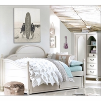 Inspirations by Wendy Bellissimo Westport Panel Daybed in Morning Mist Finish