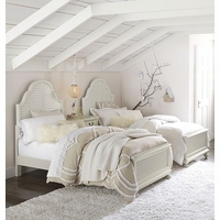 Inspirations Morning Mist Cottage Panel Twin Youth Bed