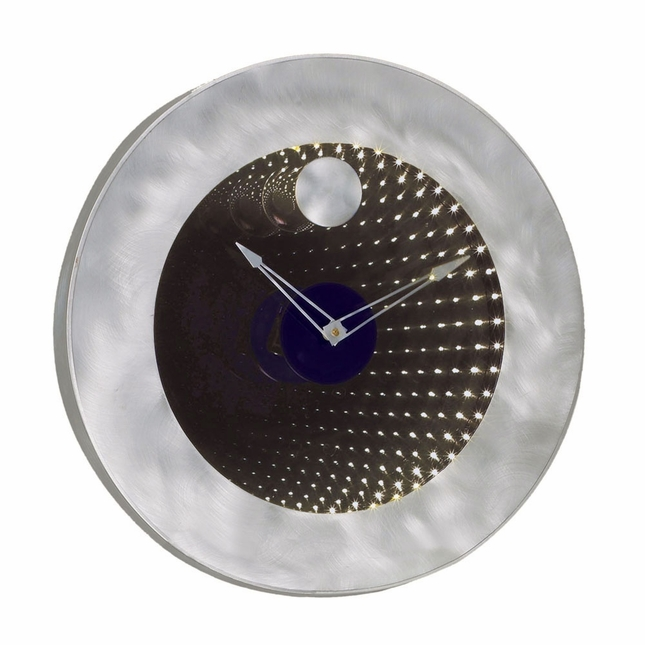 Interstellar Infinity Mirror LED Light Wall Clock IFC2200