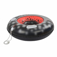 Invader Cold Resistant Snow Tube Inflatable Sled with Handles