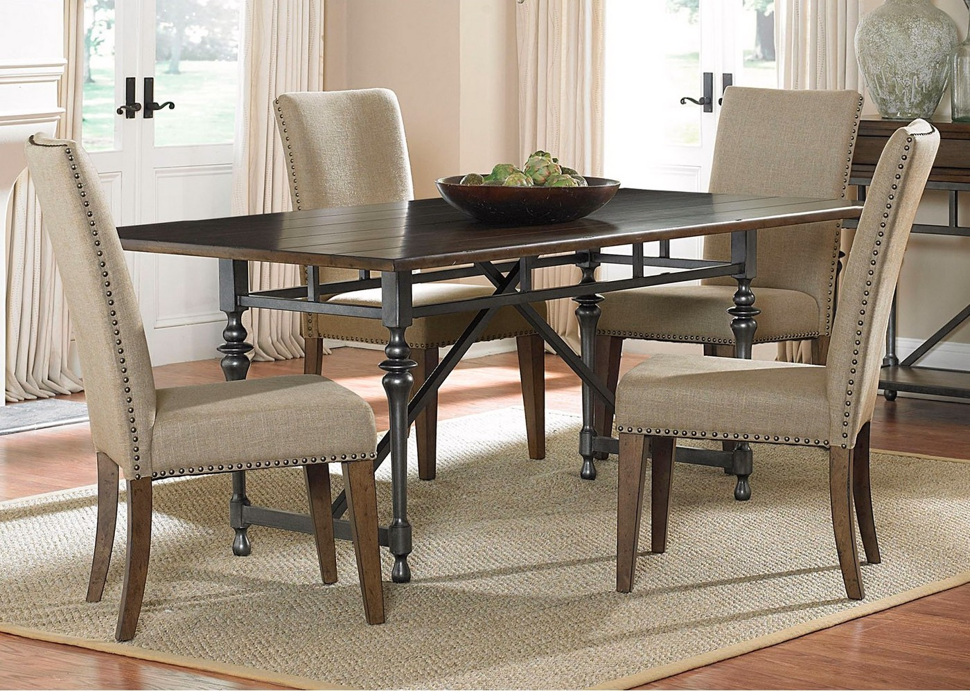 Ivy park modern farmhouse casual dining room set for Informal dining