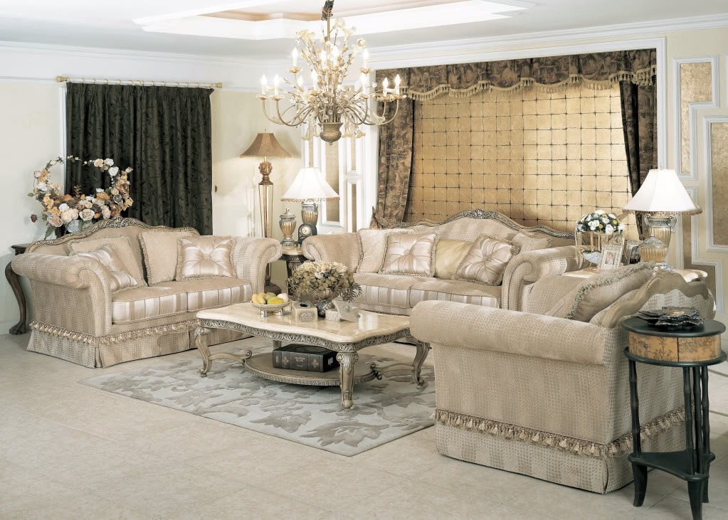 Sofa sets for Luxury living room sofa