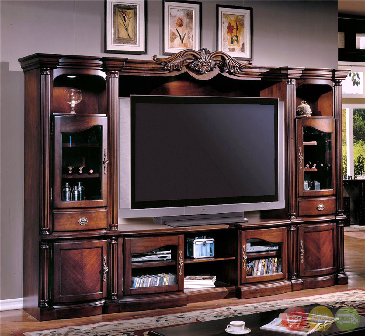 Large tv wall units pictures to pin on pinterest pinsdaddy for Large tv wall units
