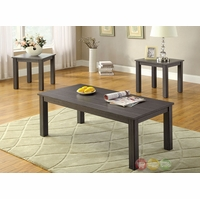 Kenton II Contemporary Gray Accent Tables Set CM4179