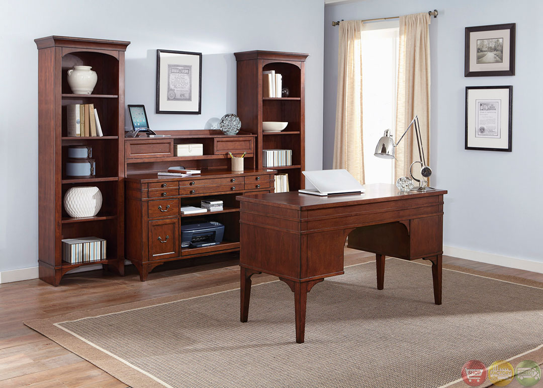 keystone traditional executive home office furniture desk set. Black Bedroom Furniture Sets. Home Design Ideas