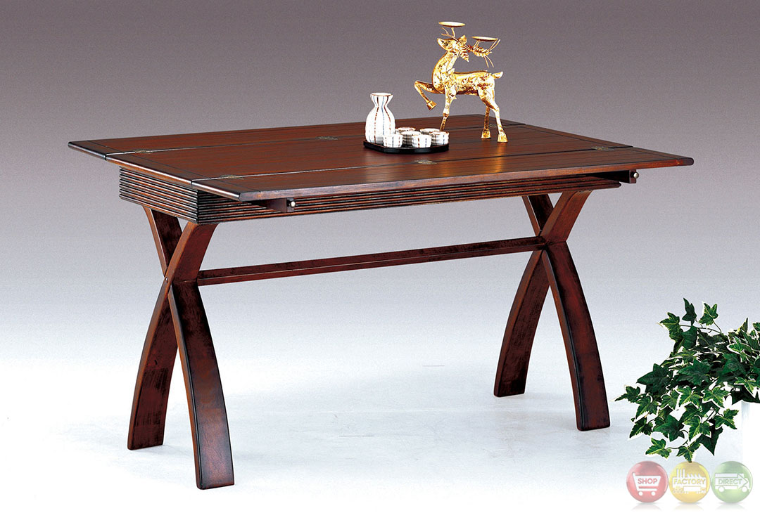 Kingston transitional style sofa table with expandable top - Expandable console tables ...