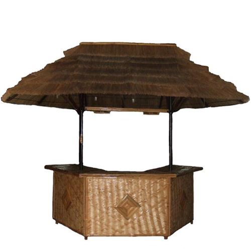 Laguna Large Bamboo Bar Patio Furniture Tropical - 2401