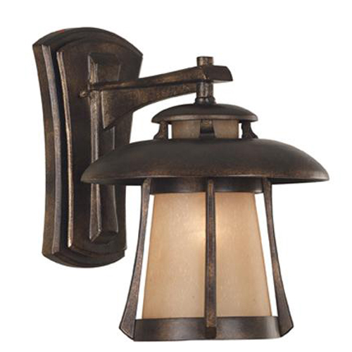Laguna Medium Wall Lantern Golden Bronze Traditional - 03195