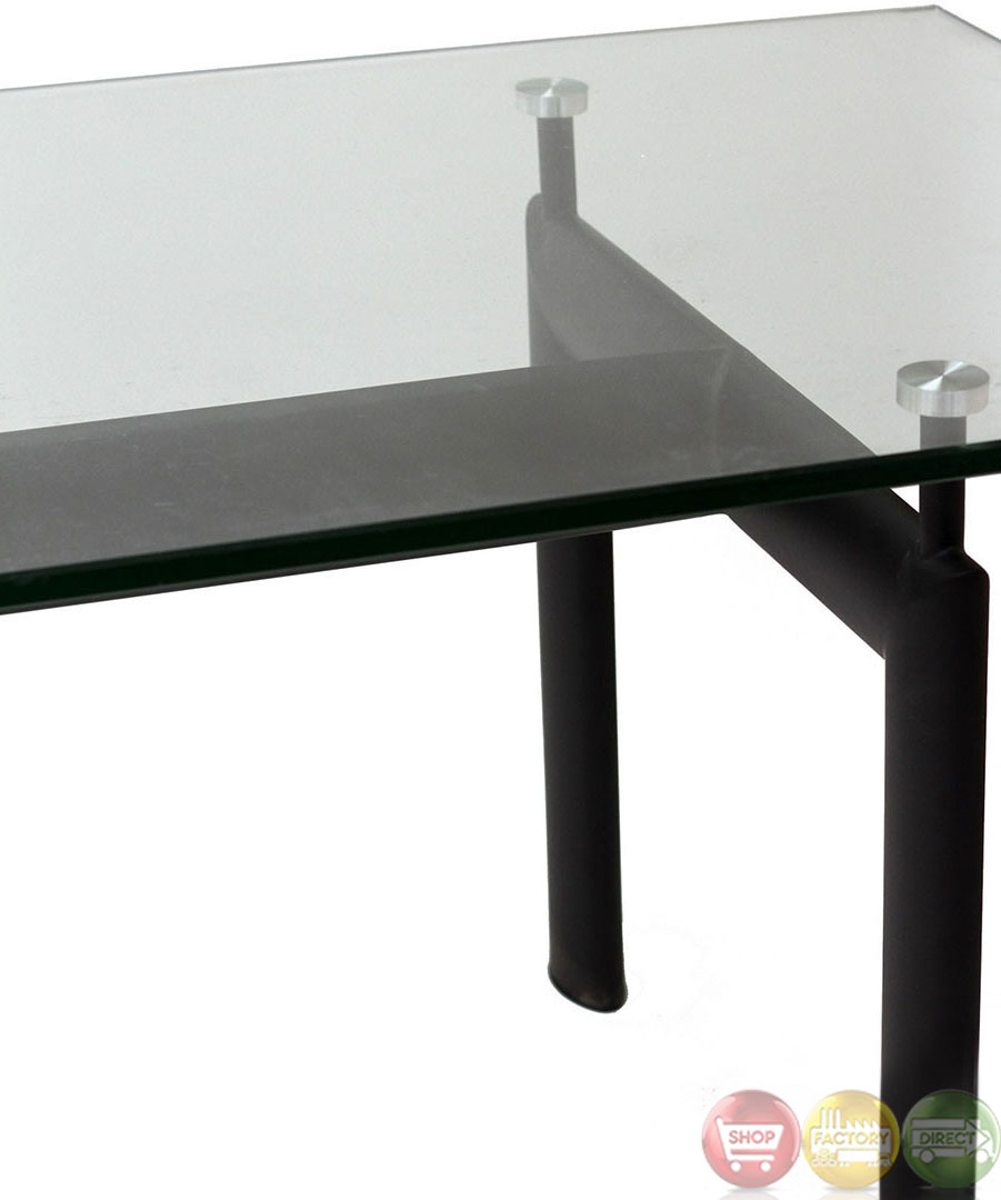 Le corbusier contemporary modern lc6 dining table with for How to make a sturdy table base
