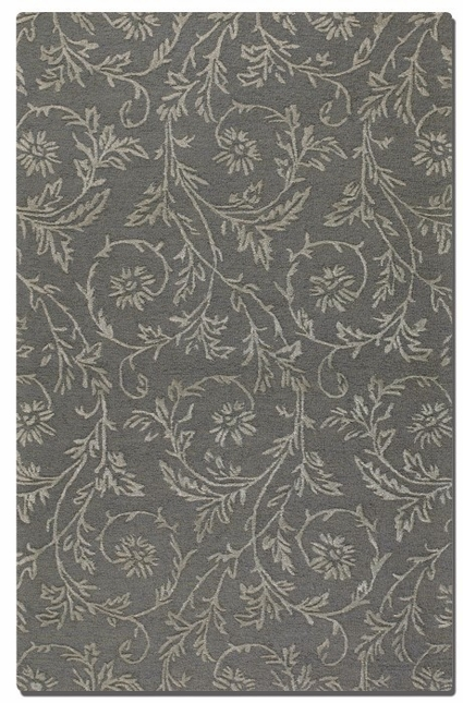 Licata Blue Gray Hand Tufted Wool Rug 73026