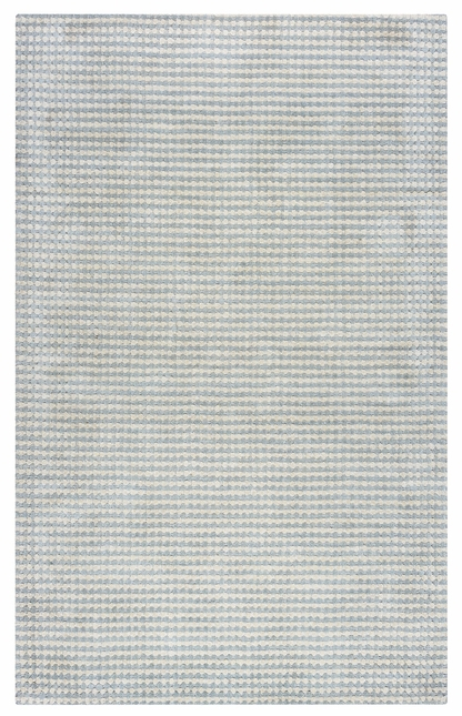 Rizzy Rugs Light Blue Transitional Hand Loomed Area Rug Platoon PL1333