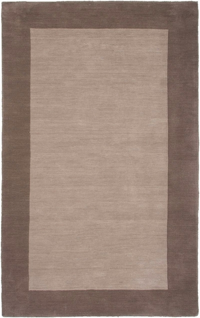 Rizzy Rugs Light Brown Solid Hand Loomed Area Rug Platoon PL2847