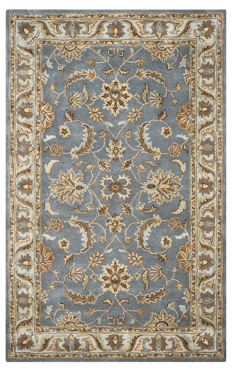 Rizzy Rugs Light Gray Traditional Hand Tufted Area Rug