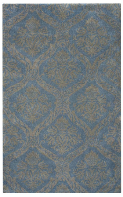 Rizzy Rugs Light Gray Transitional Hand Tufted Area Rug Volare VO2287