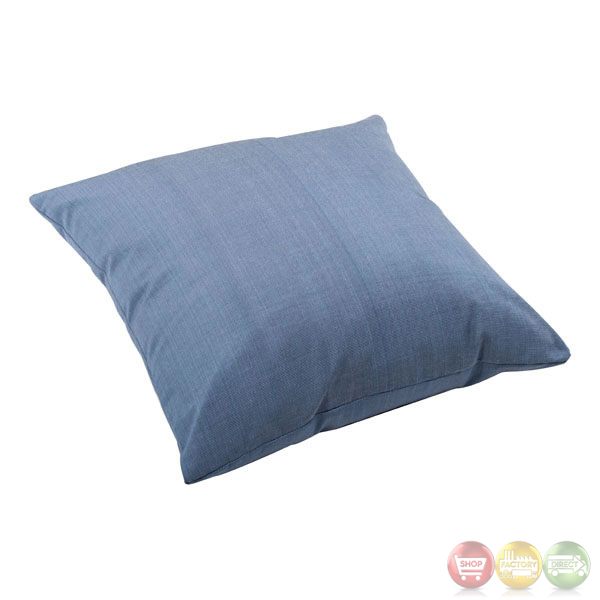 Modern Blue Outdoor Pillows : Lizzy Country Blue Large Pillow Zuo Modern 703296Modern Outdoor FurnitureFree Shipping ...
