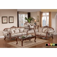 Traditional European Design Formal Living Room Luxury Sofa Set ...