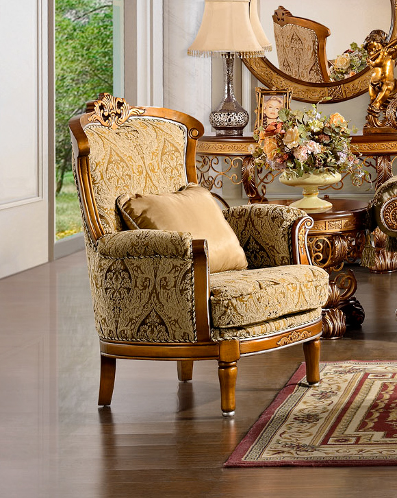outstanding traditional formal living rooms   Luxurious Traditional Style Formal Living Room Set HD-369