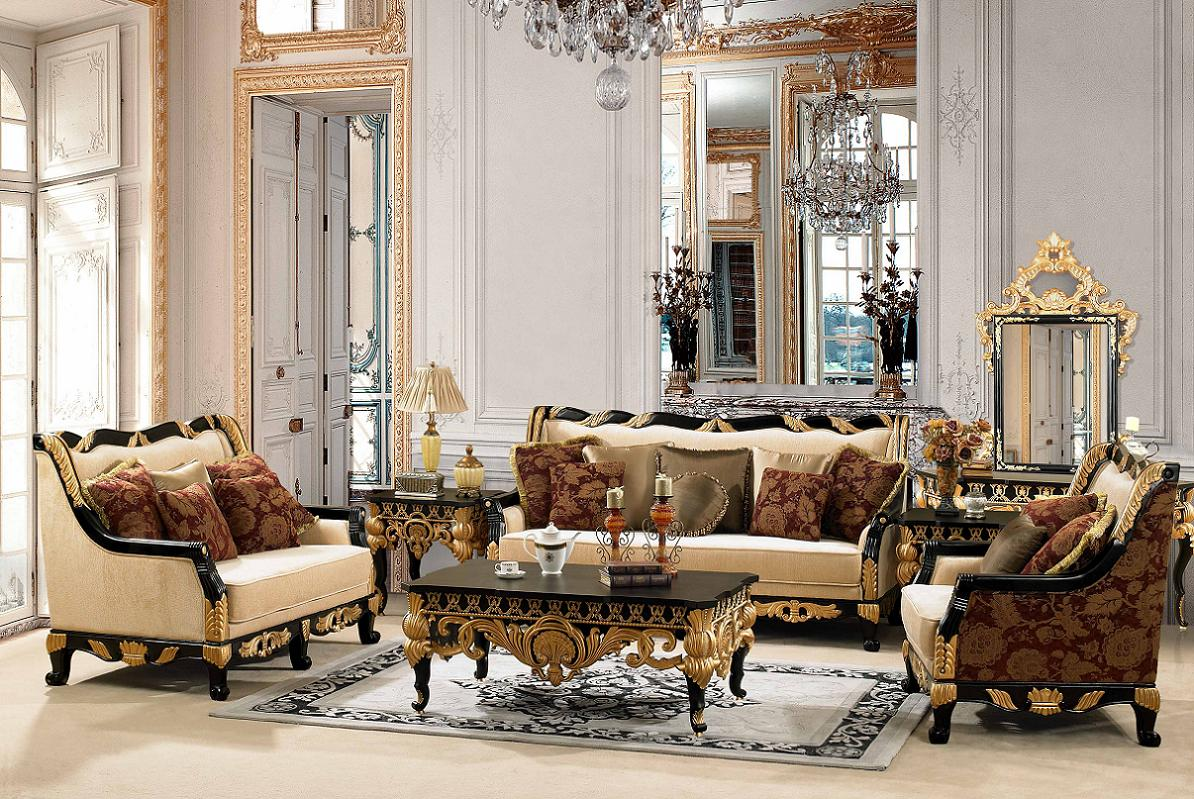 Elissa home designing formal living room furniture - Living room furniture traditional ...