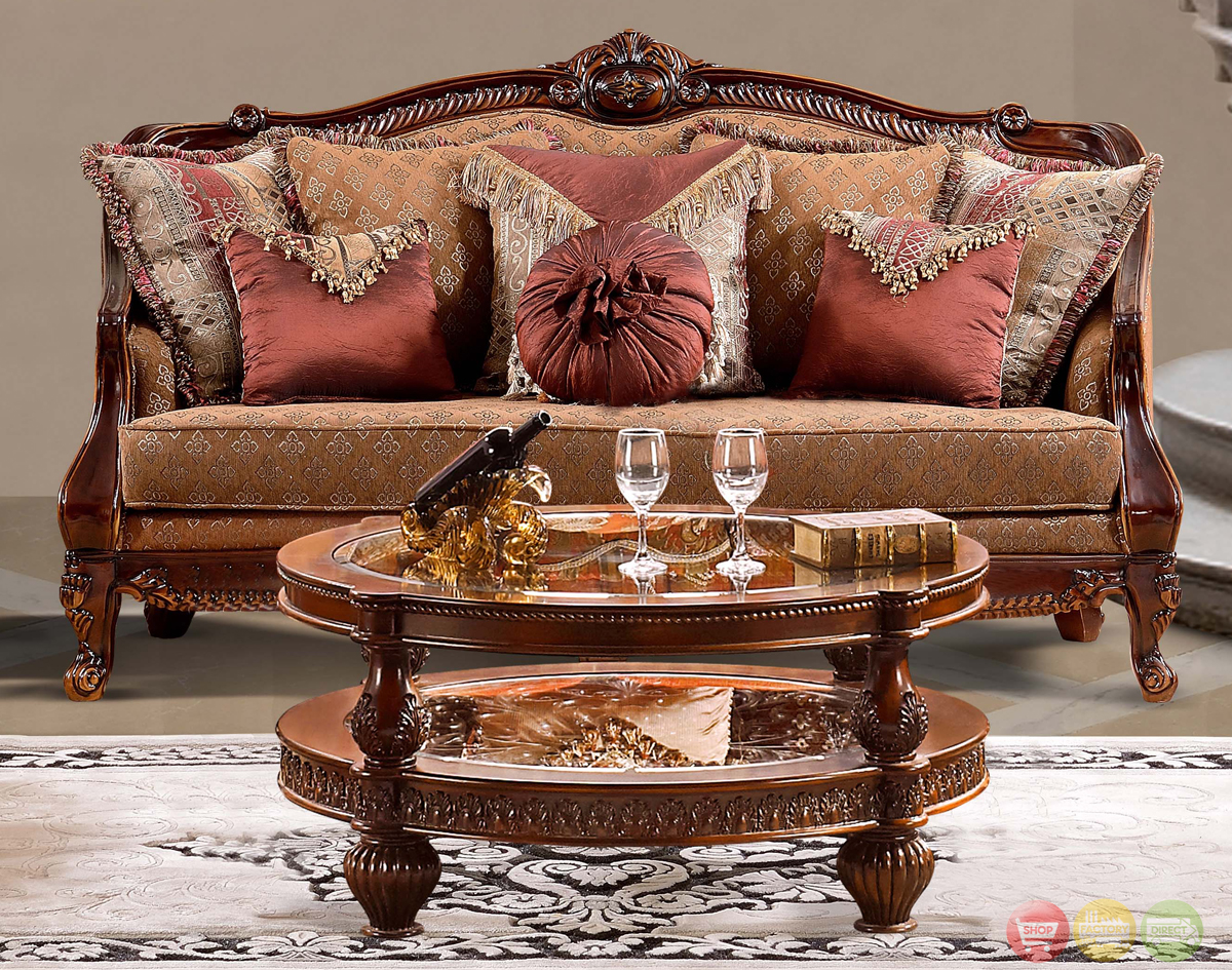 Luxurious traditional style formal living room set hd 904 for Living room furniture classic style