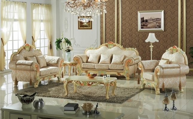 Luxurious Victorian Formal Living Room Furniture Antique White Carved Wood & Victorian Living Room Furniture | Victorian Style Sofas