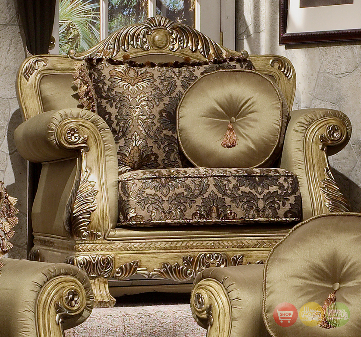 Antique living room chairs modern house for Luxury living room furniture collection