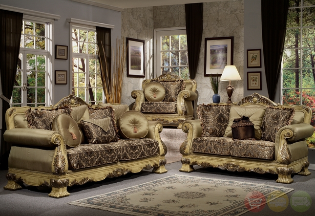 Luxury Antique Style Formal Living Room Furniture Set Hd 913