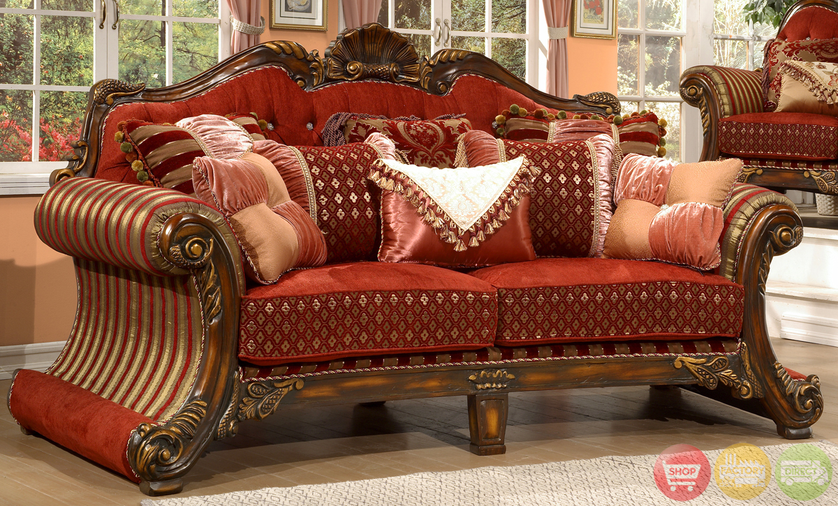 Luxury upholstered formal living room furniture for Formal living room accent chairs