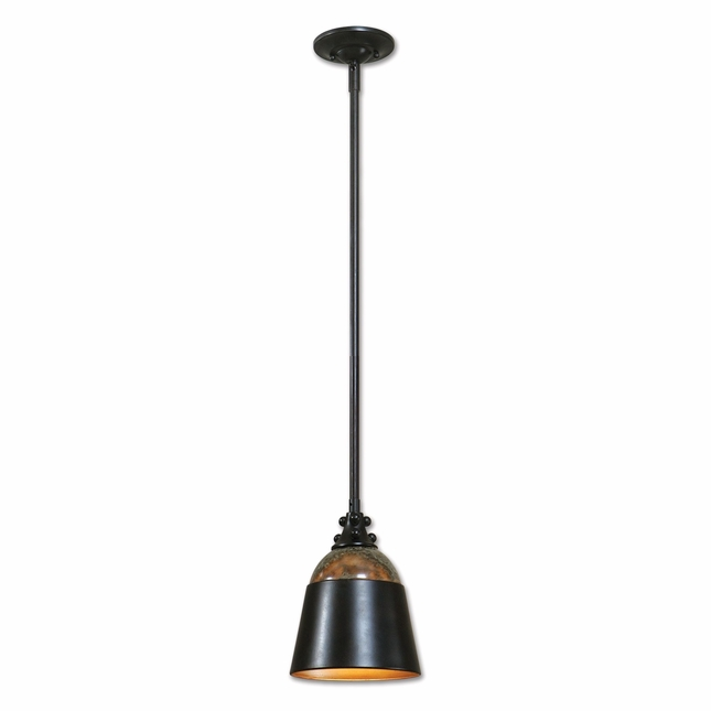 Madera Traditional Bronze Mini Pendant 21959
