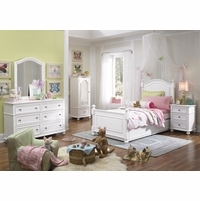Madison Natural white Low Post Twin Lifestyle Youth Bed