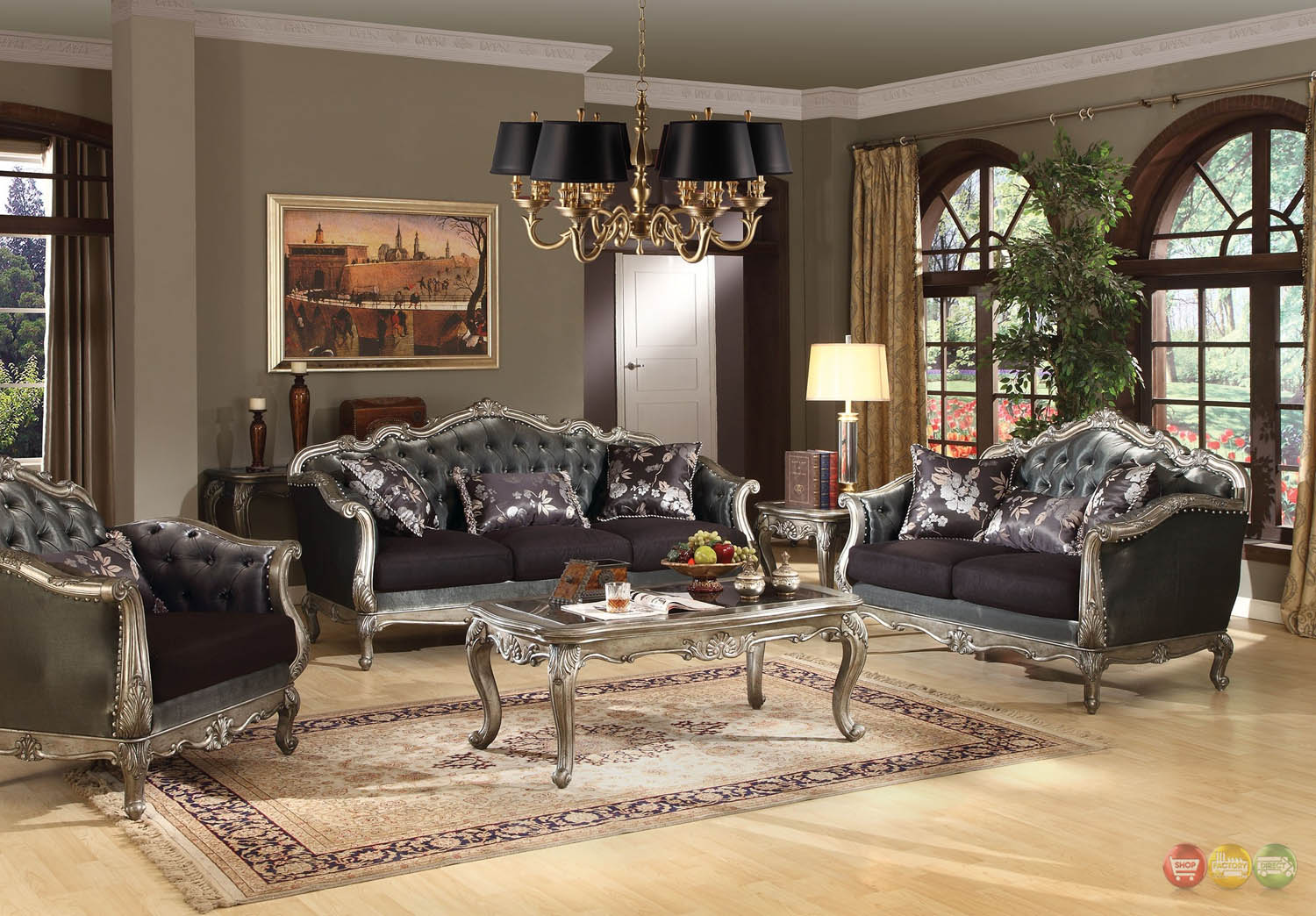 Chantelle french rococo 5 pc formal living room set carved - What to do with a formal living room ...