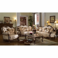 Victorian Inspired Formal Living Room Sets