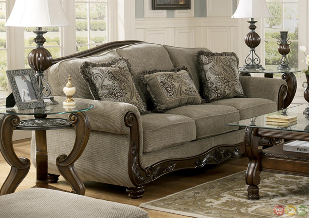 Chenille Living Room Furniture Chenille Sofa Sets