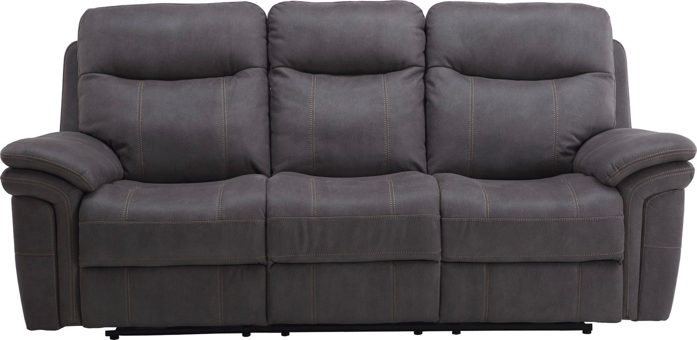 Wondrous Details About Mason Charcoal Contemporary Power Dual Reclining Sofa W Usb Charging Port Dailytribune Chair Design For Home Dailytribuneorg