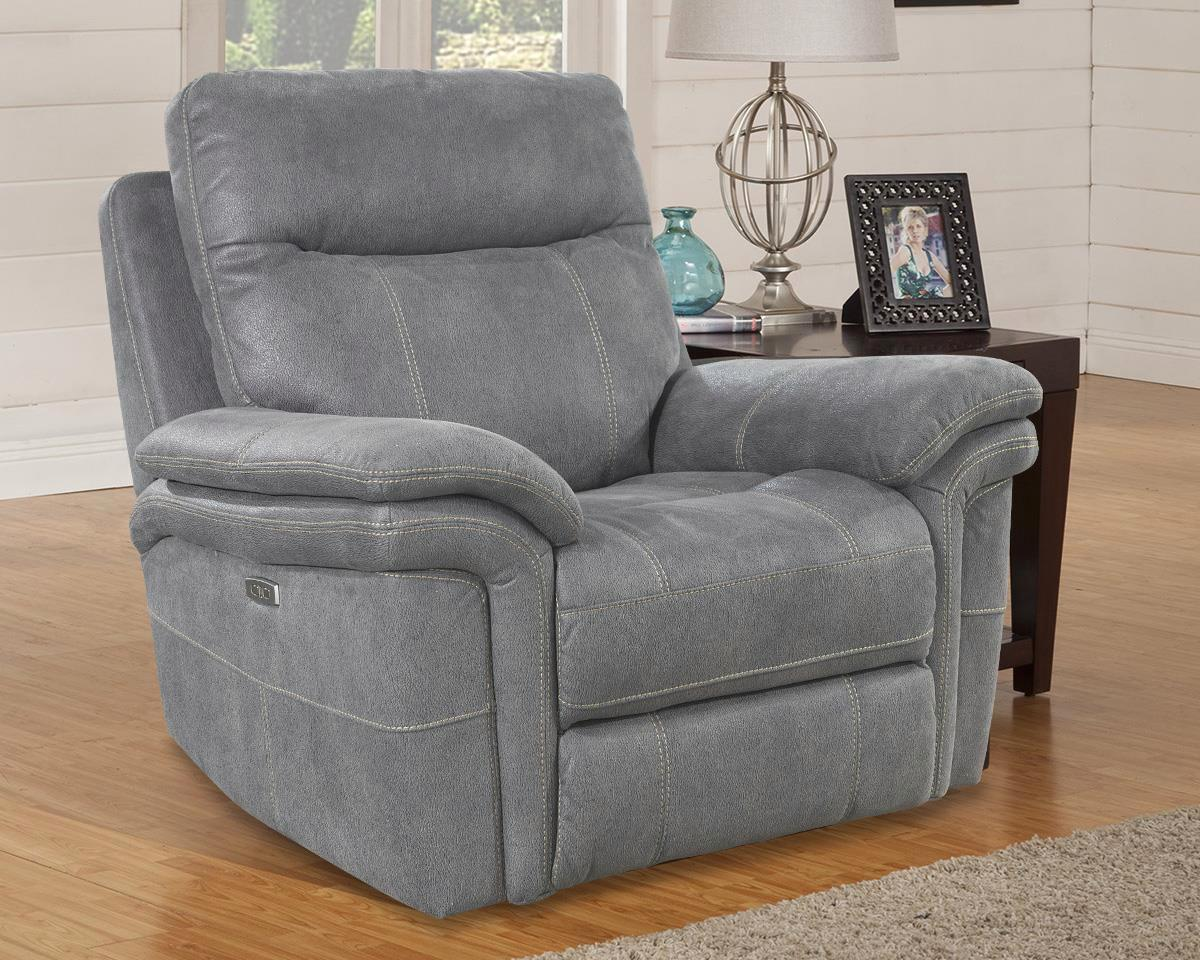 Awe Inspiring Details About Mason Carbon Power Recliner With Power Headrest And Usb Charging Port Caraccident5 Cool Chair Designs And Ideas Caraccident5Info