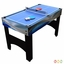 "Matrix 54"" Blue & Silver 7-in-1 Multi-Game Table, Accessories Included"