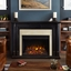 Maxwell Grand VIVID LED Electric Fireplace In Black, 5100BTU, 58x42