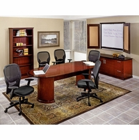 Mendocino Two Piece Executive Conference Table MEN62 - Office Furniture