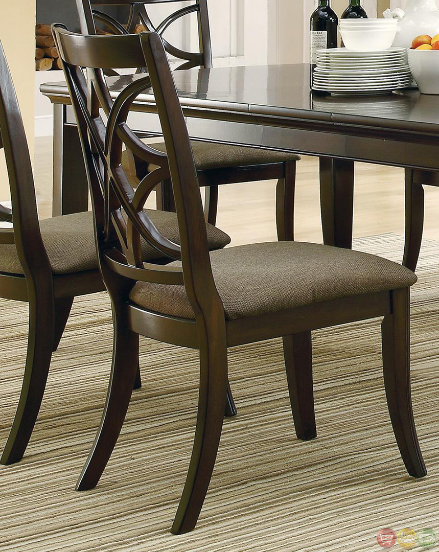 Meredith Contemporary 7 Piece Dining Room Table And Chairs