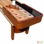 Merlot 9-ft Shuffleboard Table In Natural Walnut W/ Climate Adjusters