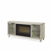 Michael Amini Beverly Blvd Pearl Caviar Contemporary Media Console by AICO
